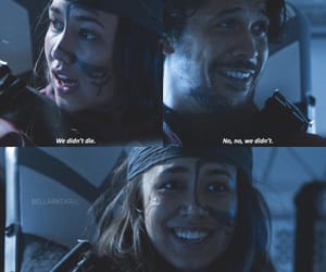 bellamy, the 100, and the 100 season 5 image