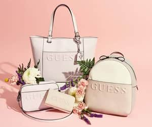 bags, guess, and style image