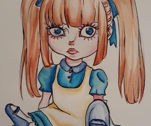 art, doll, and creepy image
