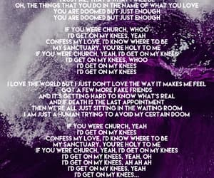 church, fall out boy, and Lyrics image