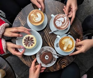 coffee, drinks, and yummy image