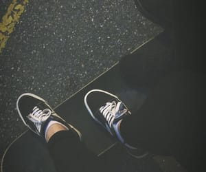 lost, night, and skateboarding image