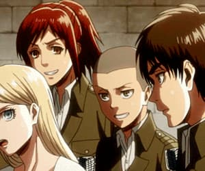 anime, anime girl, and armin image