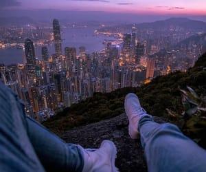 city and lights image