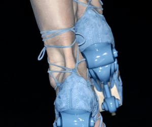blue, catwalk, and Couture image