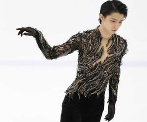 yuzuru hanyu, beautiful, and ice image