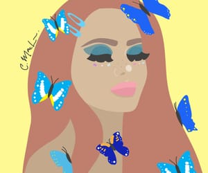art, butterfly, and digital art image