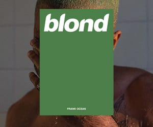 frank ocean and blond image