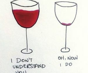 wine, drunk, and quotes image