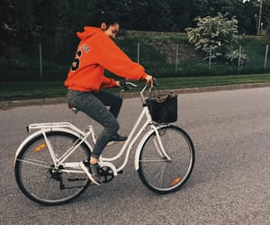 basic, riding, and bicycle image