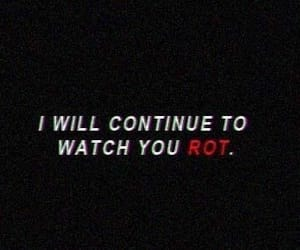 quotes, dark, and red image