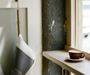 coffee, mornings, and cafe image