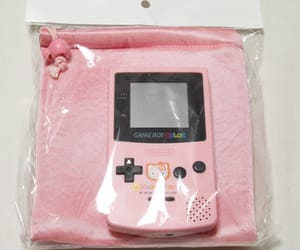 pink, game boy, and gameboy image