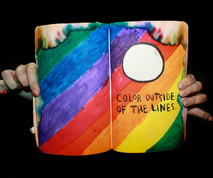 book, color, and photography image