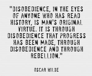 disobedience, history, and original image