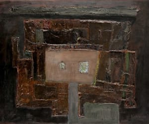 Abstract Painting, european art, and informal art image