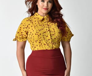 modest, plus size, and plus size outfit image