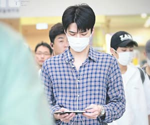 aesthetic, k-pop, and sehun image