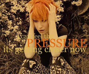 hayley williams, paramore, and pressure image