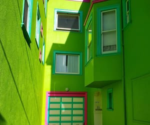 architecture, green, and lime image