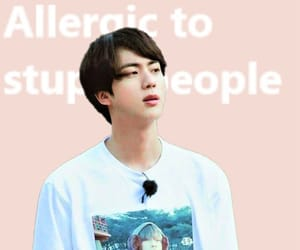 background, jin, and kpop image