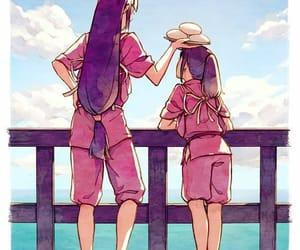 away, spirited away, and chihiro image