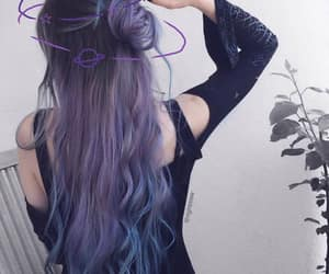 beautiful hair, haircolor, and girly things image