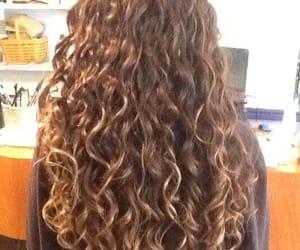 cabelo, cabelos, and fashion image