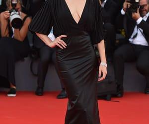 dress, red carpet, and venice film festival image