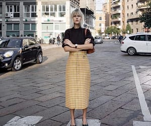 fall, fashion, and pencil skirt image