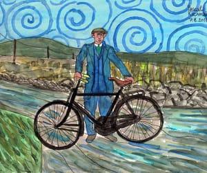 art, arte, and bike image
