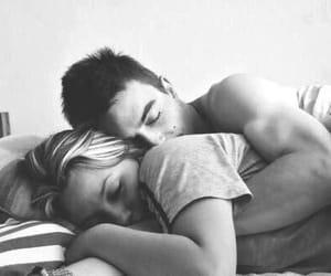 amor, sleep, and hug image