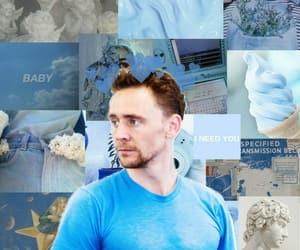 blue, Marvel, and loki image