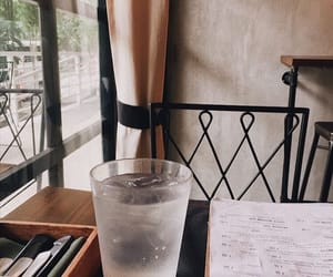 aesthetic, cafe, and eat image