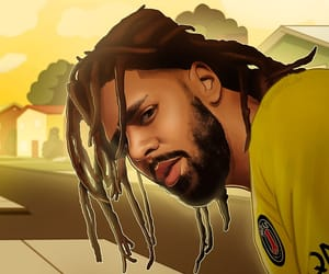 dreamville, illustration, and rapper image