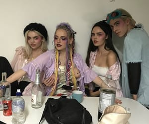 alternative, costume, and makeup image