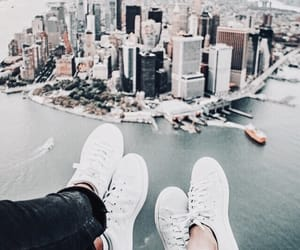 city, travel, and shoes image