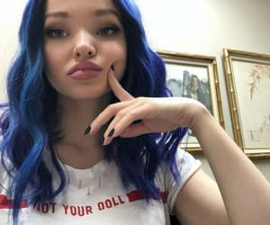actress, girl, and blue image