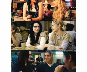 laura prepon, alex vause, and piper chapman image