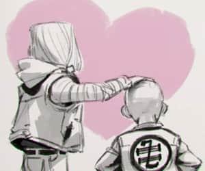 love, dbz, and kuririn e 18 image
