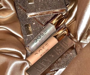 gold, makeup, and shiny image