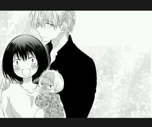 manga, scary face, and shoujo image