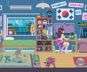 gamer, gif, and south korea image