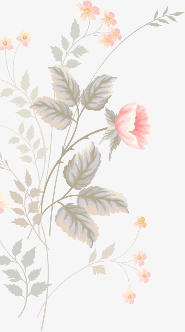 flowers, phone, and wallpapers image