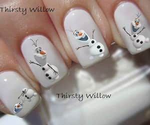 beuty, manicure, and nailart image