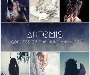 aesthetic, artemis, and edit image