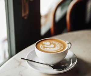 autumn, coffee, and coffee art image