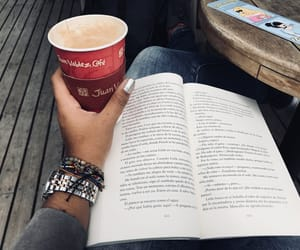 books, coffee time, and coffee and books image