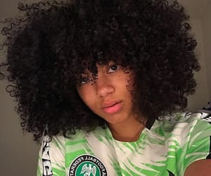 beauty, curly, and nigeria image