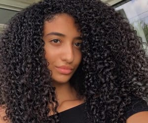 arabic, beauty, and curly image